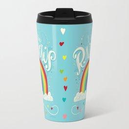 I Just Like Rainbows Travel Mug