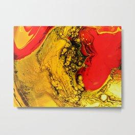Sulfur Metal Print
