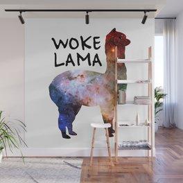 Woke Lama Wall Mural
