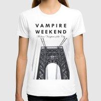 vampire weekend T-shirts featuring Vampire Weekend / George Washington Bridge by Harold's Visuals