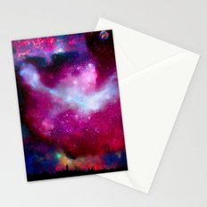 A Night Without Lights Stationery Cards