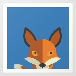 What does the fox say? Art Print