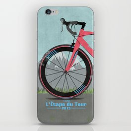 L'Etape du Tour Bike iPhone Skin