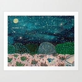 Dreaming of Us Art Print