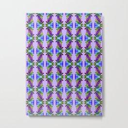 Recycled Smoke Pattern  (5) Metal Print