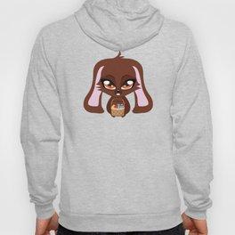 Brown Easter Bunny Hoody