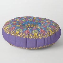 Bienvenida a Marte (Violeta) Floor Pillow