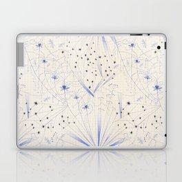 bleu craie Laptop & iPad Skin