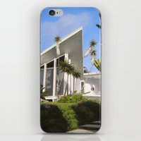 san diego iPhone & iPod Skins featuring San Diego Modern Pathway by Danny Heller