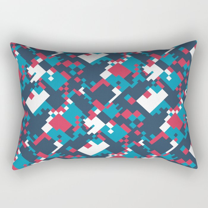pixelated 2.0 Rectangular Pillow