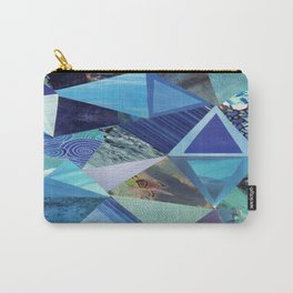 Collage - So Blue Carry-All Pouch