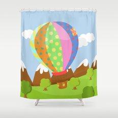 BALOON (AERIAL VEHICLES) Shower Curtain