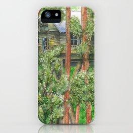 Hidden Treehouse iPhone Case