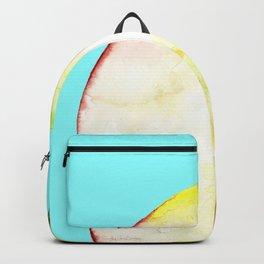 Apple on Aquamarine Backpack