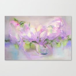 """""""Summer Bouquet"""" oil painting by Diana Grigoryeva Canvas Print"""
