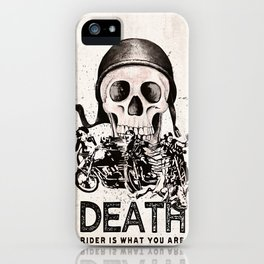 Death Rider III iPhone Case