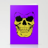 skeletor Stationery Cards featuring Skeletor by Dukesman