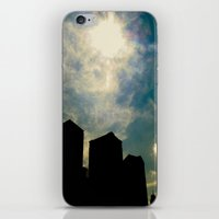gotham iPhone & iPod Skins featuring gotham by Jaina Tharakan
