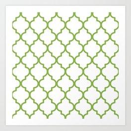 Pantone, Greenery 1 Art Print
