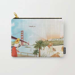San Francisco + Los Angeles Carry-All Pouch