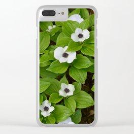 Tongass Trillium Clear iPhone Case