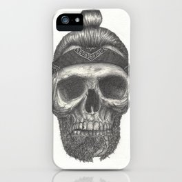 Broken Beard iPhone Case