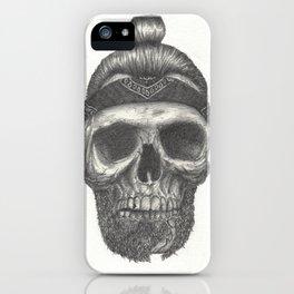 Broken Beard iPhone Case