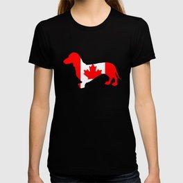 Canada Dachshund T-shirt