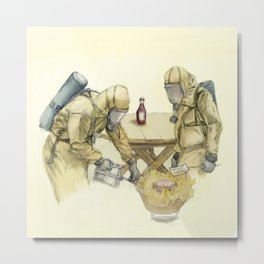 Barbecue Metal Print