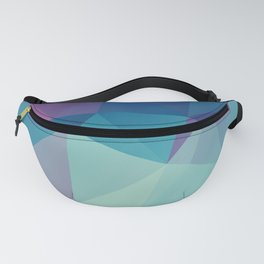 Contast2 –abstract polygram illustration Fanny Pack