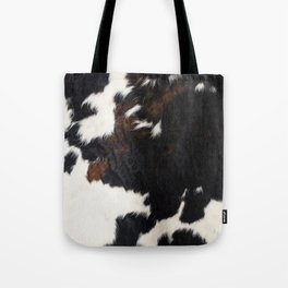 Cowhide Farmhouse Decor Tote Bag