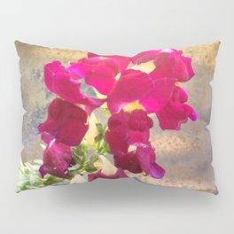 Snap dragon Pillow Sham
