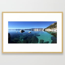 Crystal Tahoe Framed Art Print