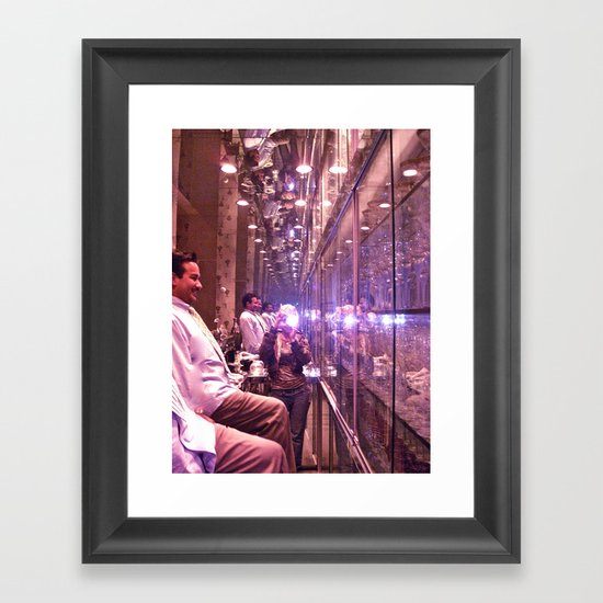 glasshouse Framed Art Print