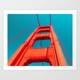 Up the Golden Gate Art Print