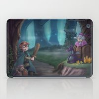 adventure is out there iPad Cases featuring Adventure by aokstudios