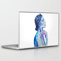 queen Laptop & iPad Skins featuring Queen by Andreea Maria Has