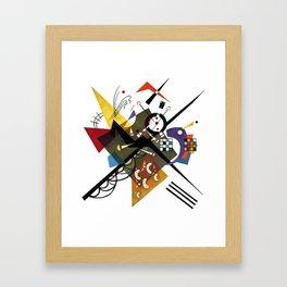 Kandinsky Sur Blanc, 1923 Framed Art Print