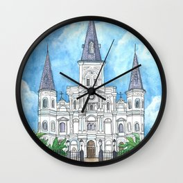 Jackson Square, New Orleans Wall Clock