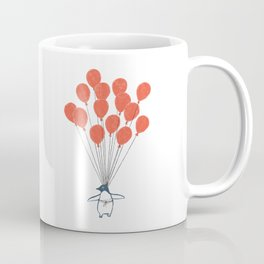 Penguin Balloons Coffee Mug
