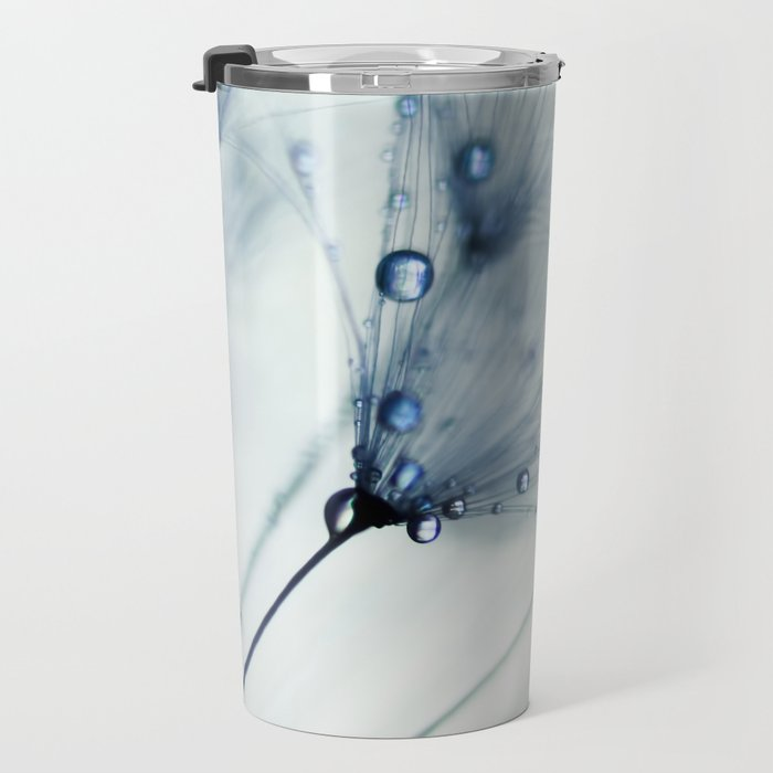 dandelion blue II Travel Mug