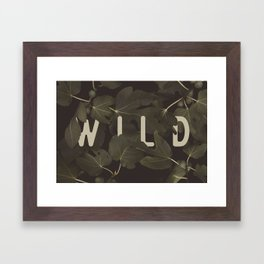 Wild I Framed Art Print