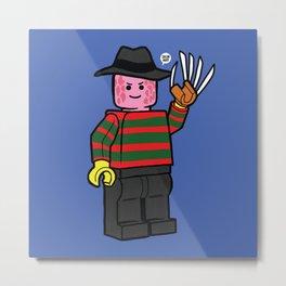 Horror Toys - Freddy Metal Print