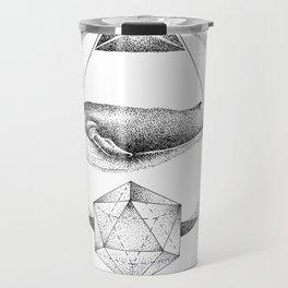 GEOMETRIC WHALE Travel Mug