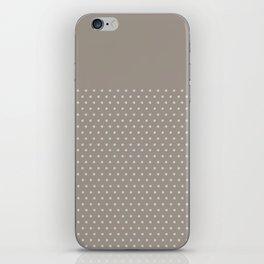 Dots on Earl Grey iPhone Skin