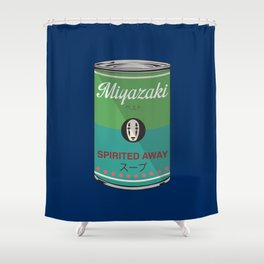 Spirited Away - Miyazaki - Special Soup Series  Shower Curtain