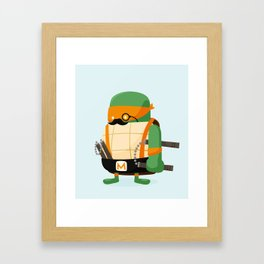 Mike in Disguise Framed Art Print
