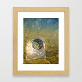 TMT / The Biggest Spatial Eye / EXPLORERS ONLY Framed Art Print