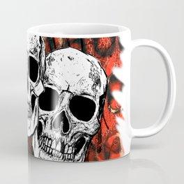 Skull Trio Dripping Coffee Mug