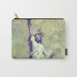 Textured Statue of Liberty Carry-All Pouch